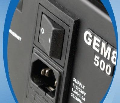 Front of GEM80 500 Controller